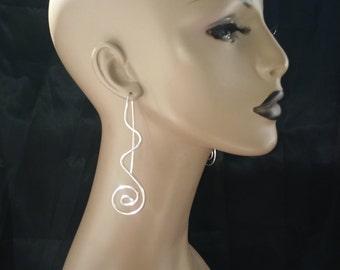 Beautiful Shaped Wire Earrings, 16G Earrings, Women's Earrings, Fashion Earrings, Ladies Earrings