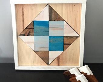 Handmade Wooden Barn Quilt