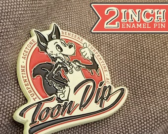 Toon Dip Enamel Pin