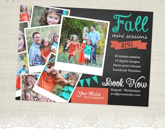 Fall Mini Session Template for Photographers - MS21