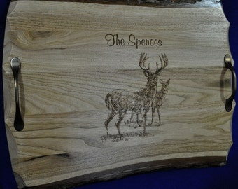 Wedding Gift ~ Wedding Gift For Couple ~ Hunting ~ Engraved Gift For Couple ~ Engraved Serving Tray ~ Anniversary Gift ~ Gift For Brother ~