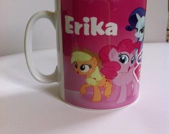 Personalised My Little Pony Mug novelty,birthday,gift,funny,girl/ ceramic  165