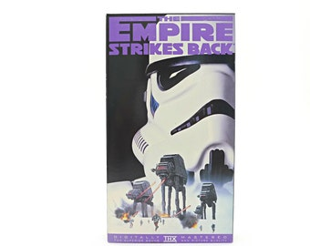 Star Wars Original Trilogy Empire Strikes Back VHS Tape, Episode 5, George Lucas, 1995 Release - Carrie Fisher, Harrison Ford, Mark Hamill