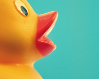 Rubber Ducky Digital Print