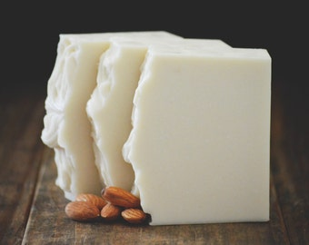 Honeymoon Soap   Almond Scented Soap with Coconut Milk