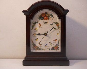 Sweet Novelty Singing Bird Clock with Sounds