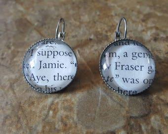 Jamie Fraser Outlander earrings