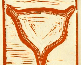 """Bladder Relief Print 4""""x4"""""""