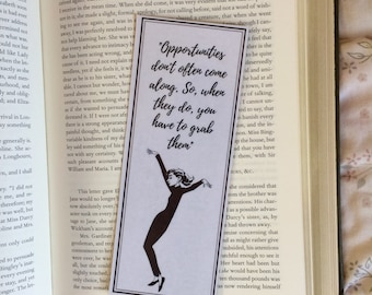 Audrey Hepburn Quote Bookmark