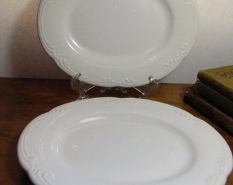 Two (2) Vintage Pfaltzgraff Small Platters & Imperial PSL Empire II Small Platter Made in Austria