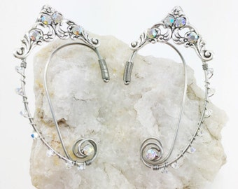 Elven Ear Cuff - Elf Ear Cuff - Fairy Ears - Elven Ears - Fairy Ear Cuff - Fairy Costume - Elf Costume - Fairy Cosplay - Elven Jewelry