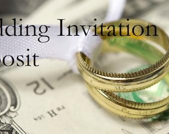 Wedding Invitation Deposit through I Do Bliss