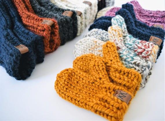 Mitten Pattern // Knitting Pattern // Knit Mitten Pattern //