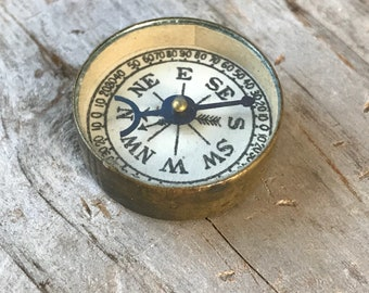Antique Advertising Compass