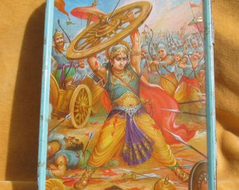 Antique Indian Sweets Tin ... Abhimanyu