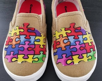 Autism Awareness Kids Shoes