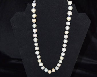 Pearls and sapphires