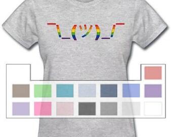 Rainbow Shrug \_(ツ)_/ T-shirt