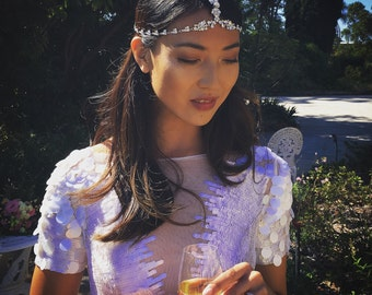 Jae headpiece hand made exclusively for Bride magazine
