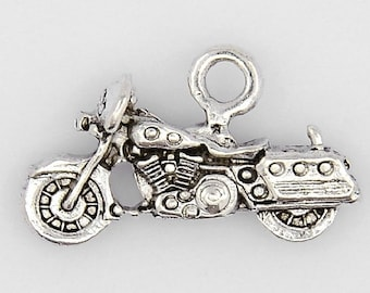 Motorcycle Club Roadtrip Tourist Leather Biker Stergis Rally Embellishment Charm