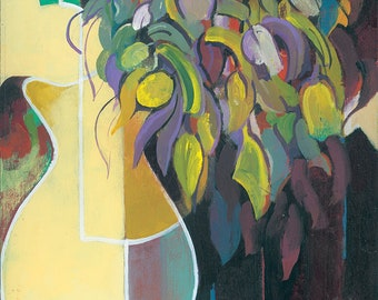 Fine Art Print | Floral Still Life | From Original | Unframed
