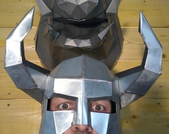 Viking helmet.