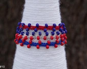 Bright Patriotic Bollywood Style Bracelets