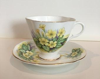 Vintage Clarence teacup set