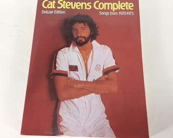 Cat Stevens Complete Deluxe Edition Songs From 1970-1975 AMSCO 1988 Tablature
