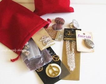 Jewelry Making Bulk Bag, Jewelry Making Grab Bag, Craft Making Grab Bag, Grab Bag 5