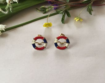 nautical stud earrings | seagulls earrings