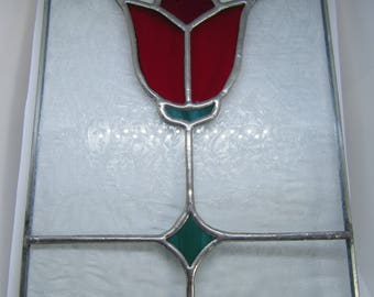 Tulip Glass Panel
