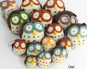 Needle felting Owl kit