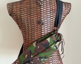Camo Cross-Body Bag
