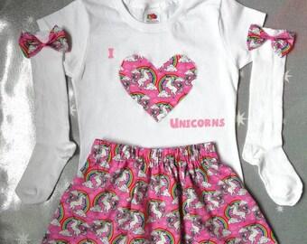 I Love Unicorns outfit