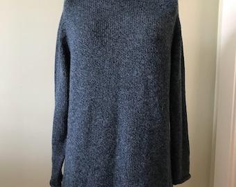 Women's Vintage Sweater / Made in Peru /   XL Wool, Alpaca, Acrylic Pullover Sweater