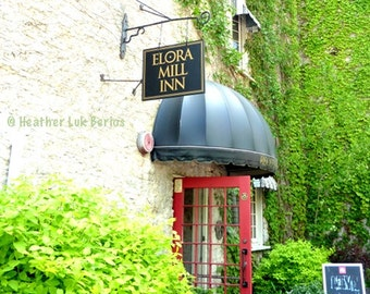 Canada Photography - Elora Mill Inn - Elora - Architecture Wall Decor - Canadian Fine Art Print