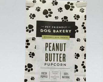 Peanut Butter Pupcorn (3 oz)