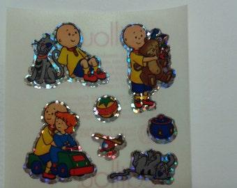 Sandylion Stickers Scrapbooking Vintage CAILLOU  (1 mod)