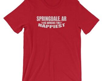 Springdale Arkansas Shirt / Arkansas Shirts for Men / Arkansas Shirts for Women / Springdale AR TShirts / Arkansas Shirts