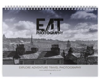 Lancaster Heysham Morecambe eatphotgraphy Calender 2017