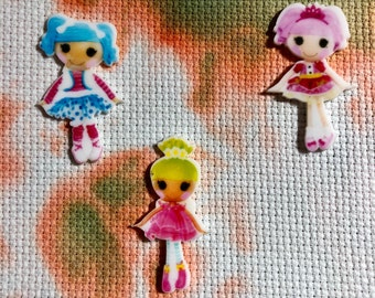 Loopsy Resin Doll Inspired Needle Minders