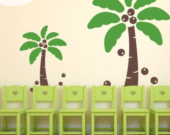 Coconut Crazy - Vinyl Wall Decals