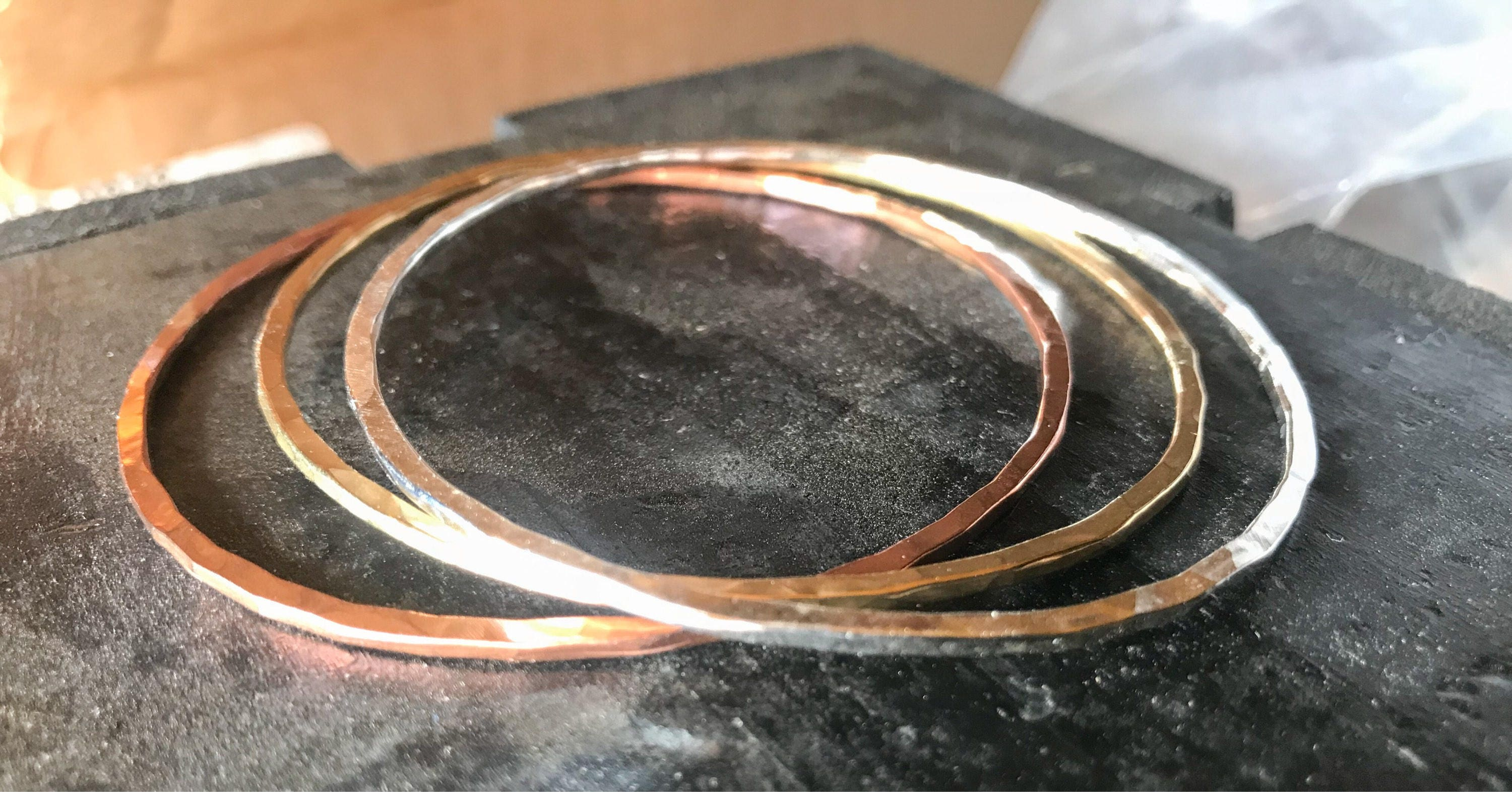 gold fortune plated bracelet bangle diameter rose en crystal small silver love three amp clear stone and yellow bangles bracelets set cm
