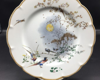 Replacement Automne Fall Haviland Theatre Des Saisons Limoges 10 Inch Dinner Plate !