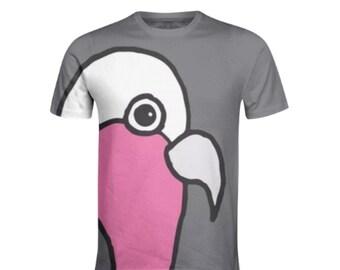 Big Galah (grey) T-shirt