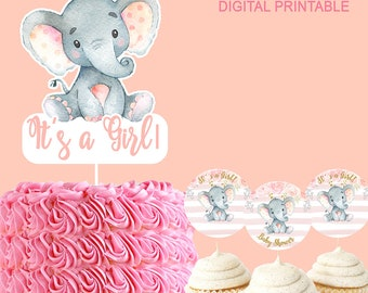 Attractive Elephant Baby Shower | Etsy