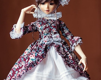 MSD BJD Clothes - Lolita dress set (Fairyland Minifee A-line) for 1/4 Girl