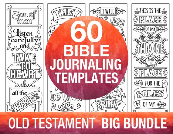 60 Biblia diario para imprimir plantillas, ANTIGUO TESTAMENTO ...
