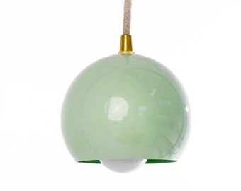 Mint Green Modern Pendant Light